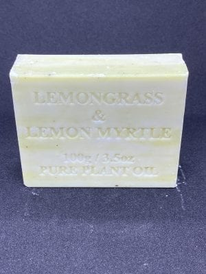 Lemongrass with Lemon Myrtle 100 gram Single Bar