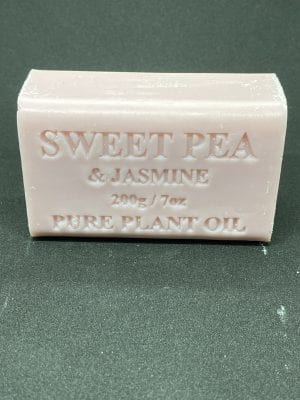 Sweet Pea & Jasmine Soap 200 gram single bar