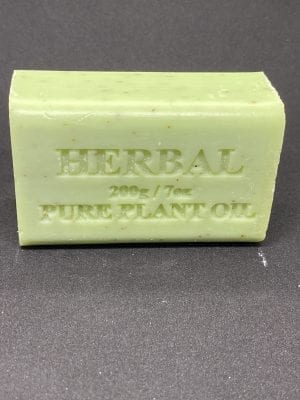 Herbal Eucalyptus Soap 200 gram single bar