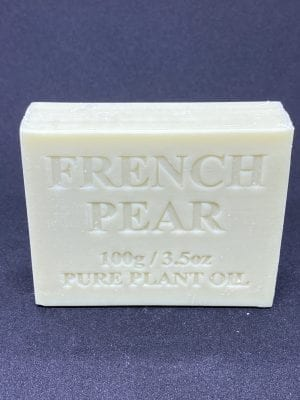 French Pear 100 gram Single Bar